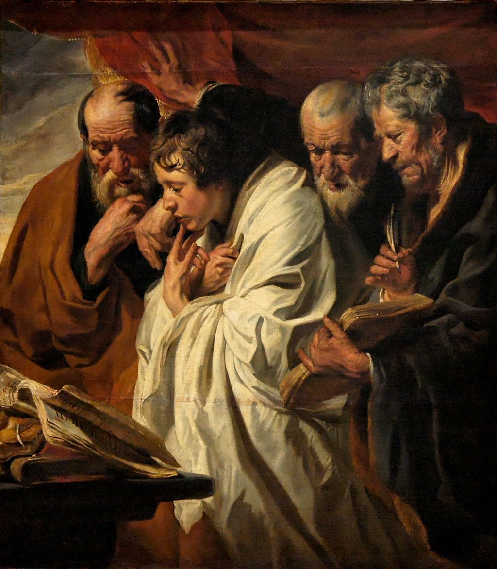 The Four Evangelists, by Jacob Jordaen